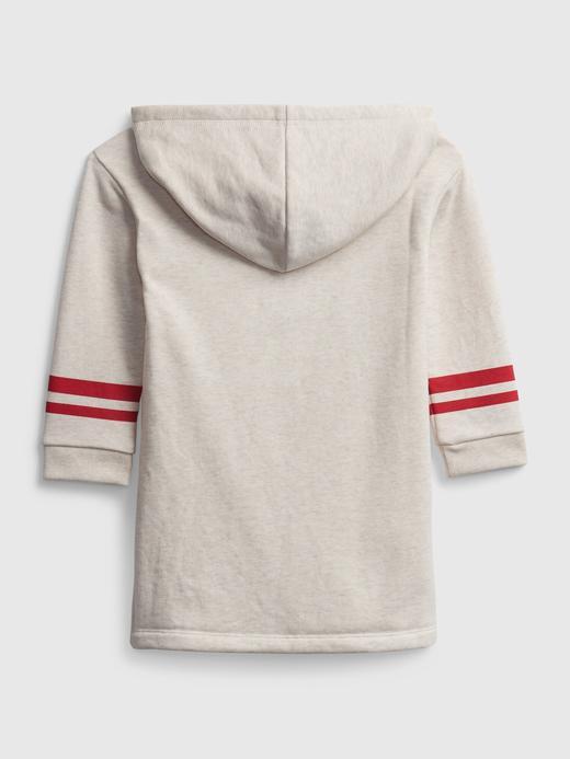 Kız Bebek beyaz Disney Mickey Mouse Sweatshirt Elbise