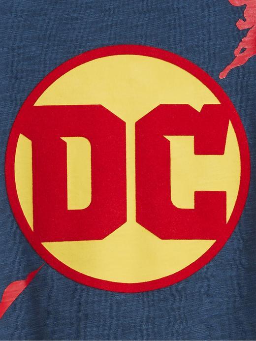 Erkek Çocuk Siyah DC™ Grafik Uzun Kollu T-Shirt