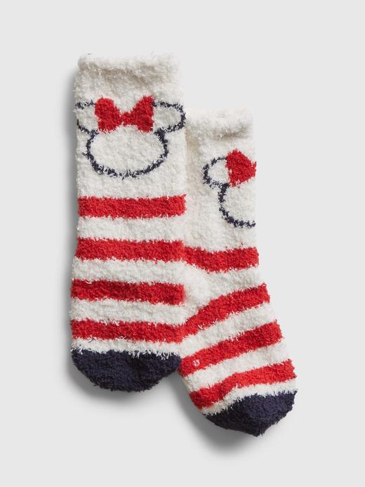 Bebek Beyaz Disney Minnie Mouse Cozy Çorap