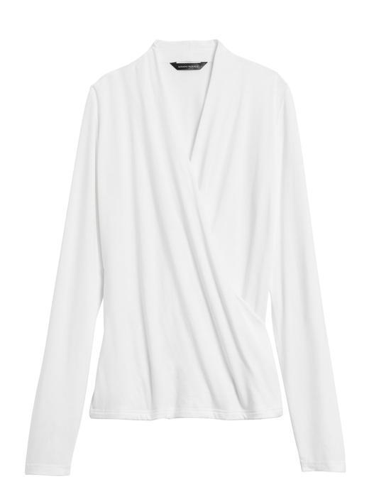 Kadın SNOW DAY Kruvaze Uzun Kollu Bluz