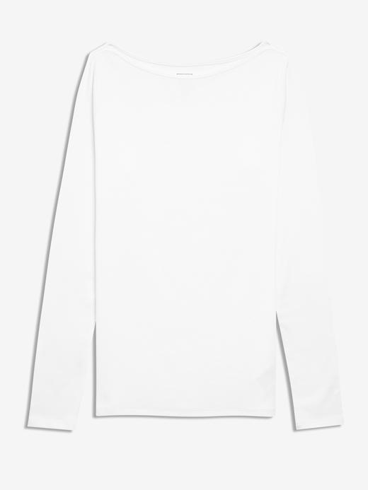 Kadın Beyaz Modern Yuvarlak Yaka T-Shirt