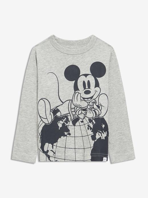 Erkek Bebek LIGHT HEATHER GREY B08 Disney Mickey Mouse Grafik T-Shirt
