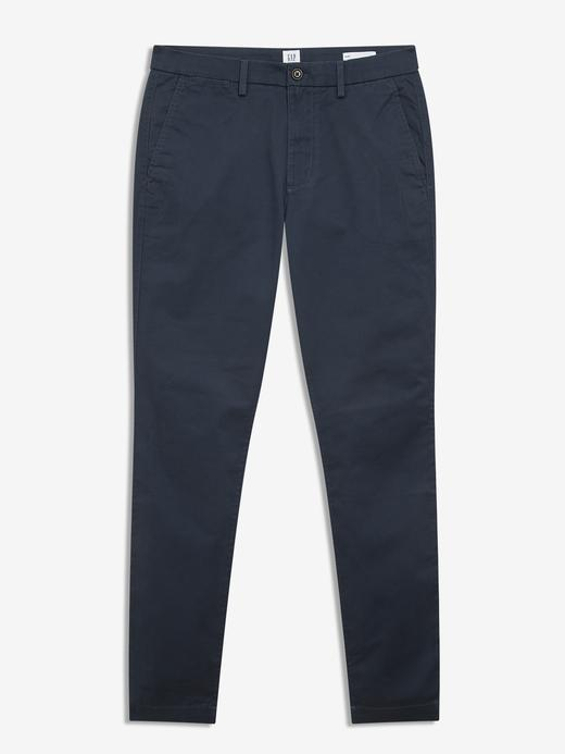 Erkek MEDIUM INDIGO 8 GapFlex Skinny Fit Khaki Pantolon