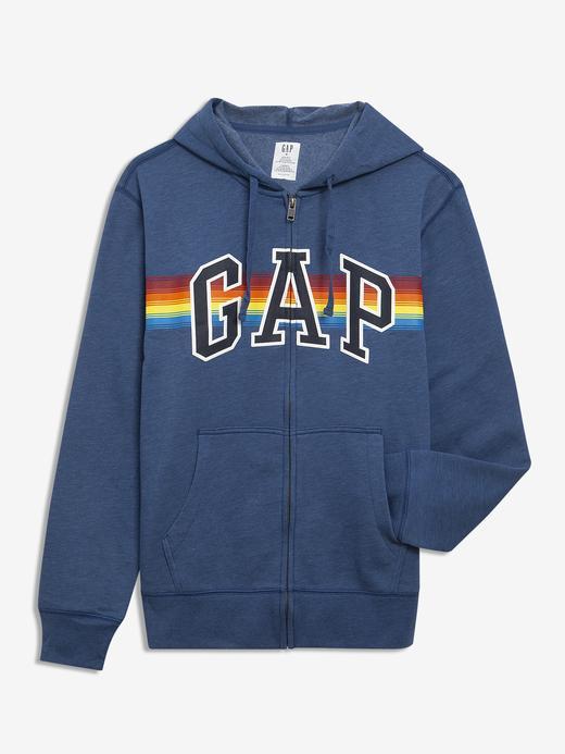 Erkek  Gap Logo Kapüşonlu Sweatshirt