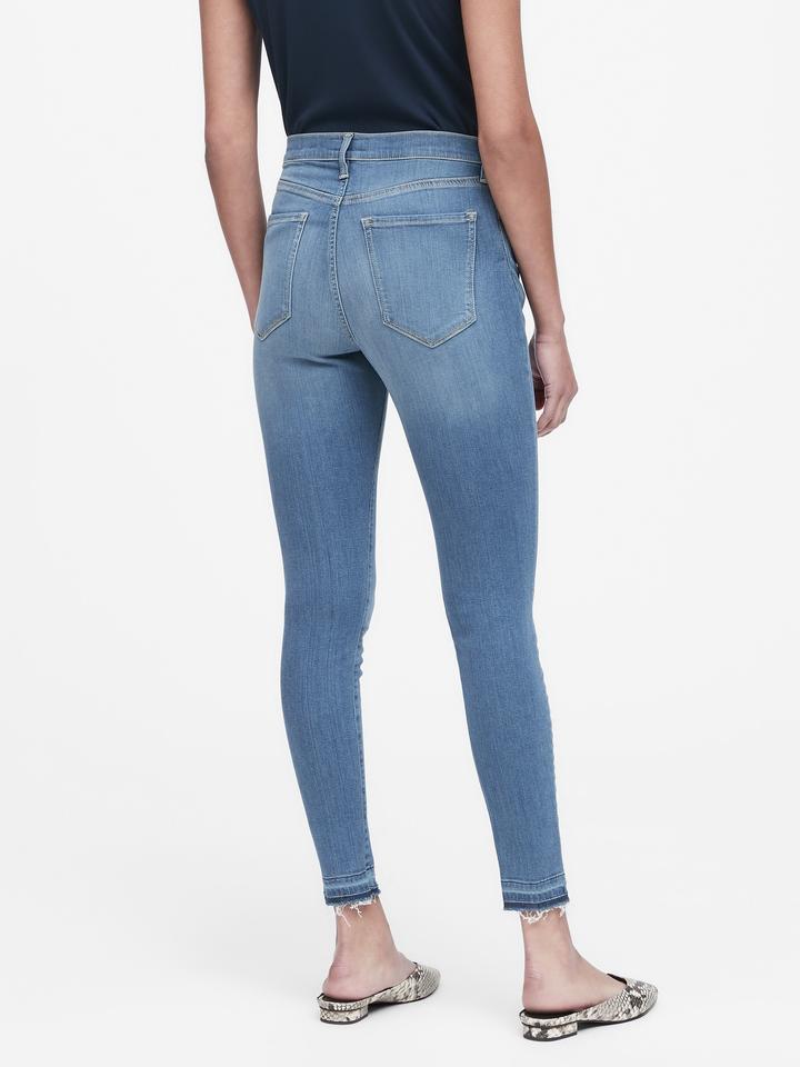Kadın  Luxe High-Rise Legging Jean Pantolon