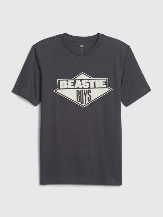 Erkek Çocuk Siyah Kısa Kollu Grafik T-Shirt