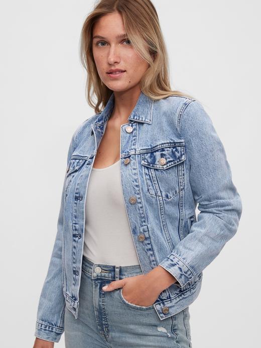 Kadın  Icon Denim Ceket