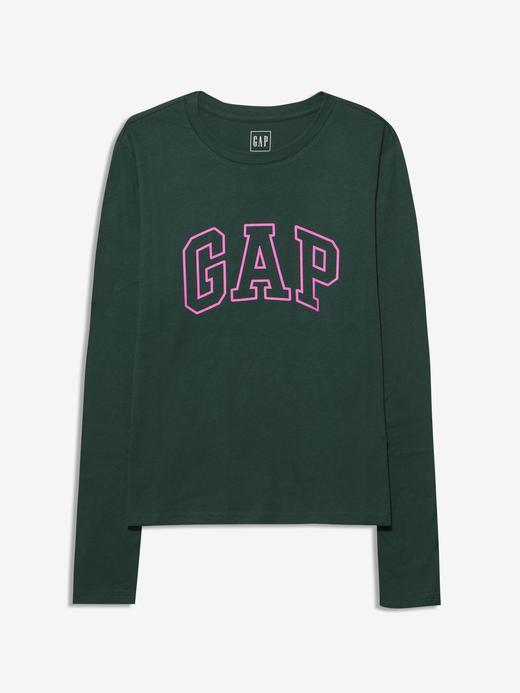 Kadın  Gap Logo Uzun Kollu T-Shirt