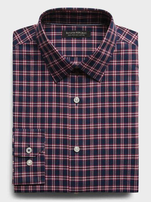 Erkek  Ütü Gerektirmeyen Standart-Fit Gömlek
