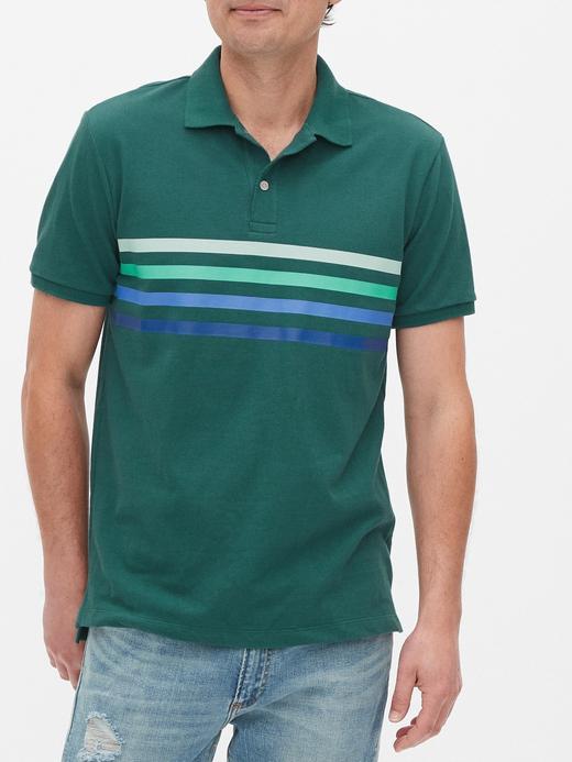 Erkek  Pique Polo Yaka T-Shirt