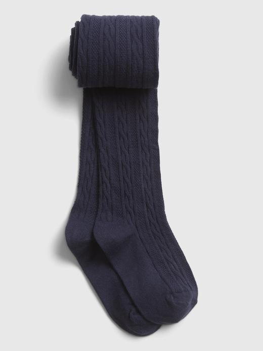 Kız Çocuk  Örme Külotlu Çorap