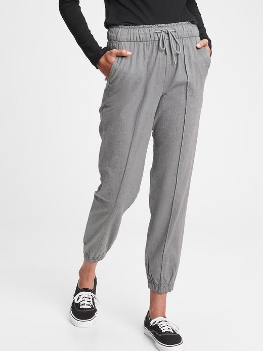 Kadın Gri Jogger Pantolon