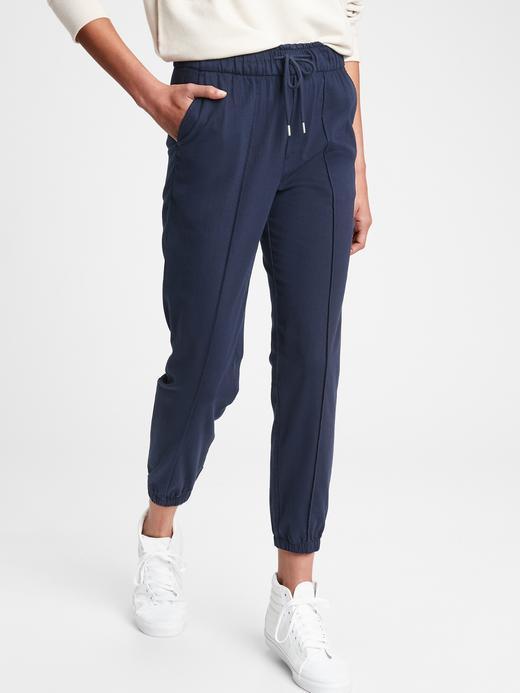 Kadın Lacivert Jogger Pantolon