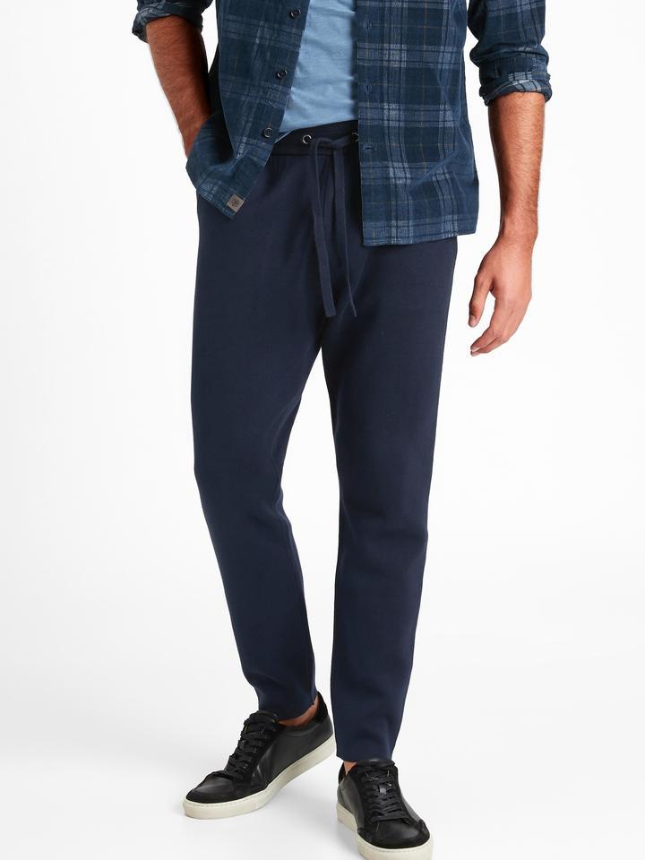Erkek BLACK K-100 SUPIMA® Jogger Pantolon