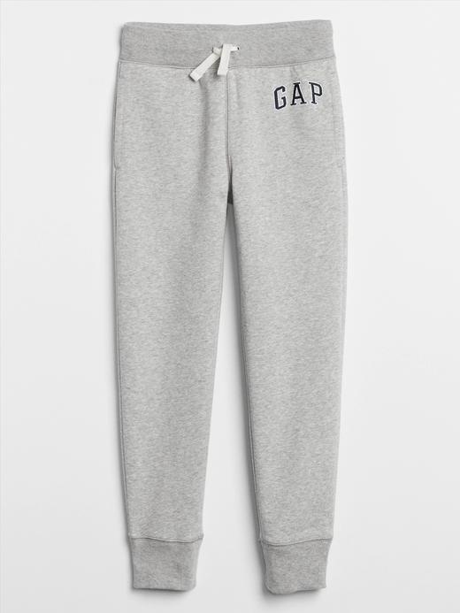 Erkek Çocuk Gri Gap Logo Eşofman Altı
