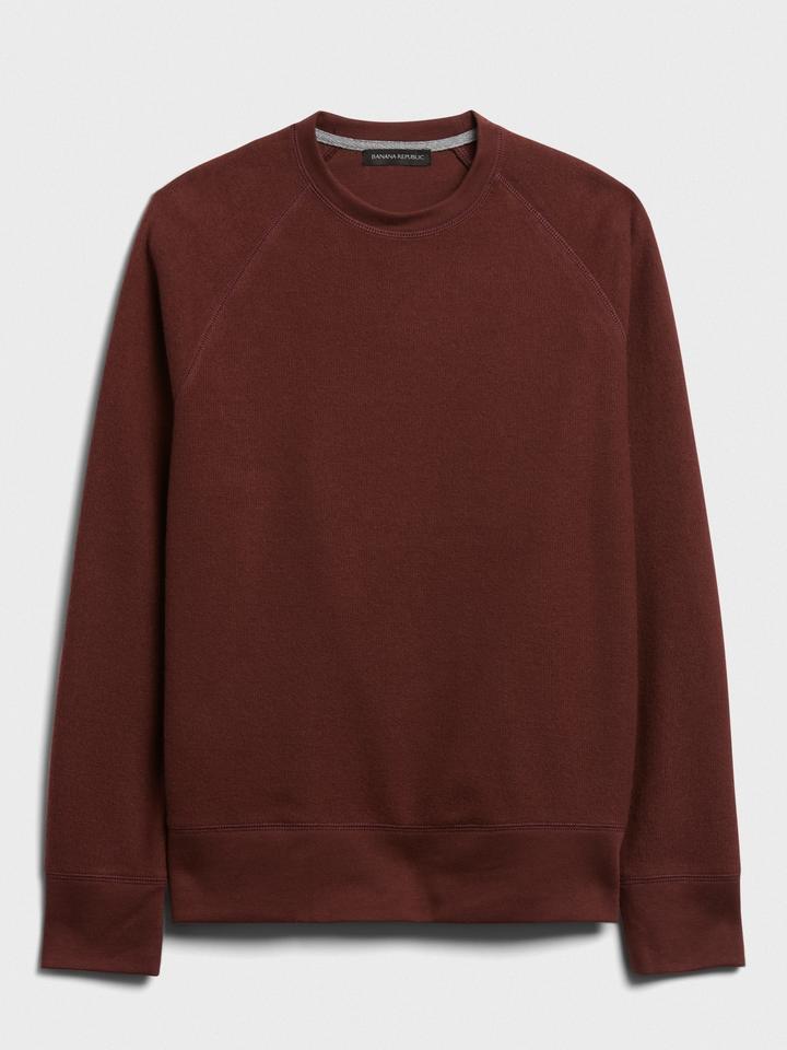 Erkek Kırmızı Uzun Kollu T-Shirt