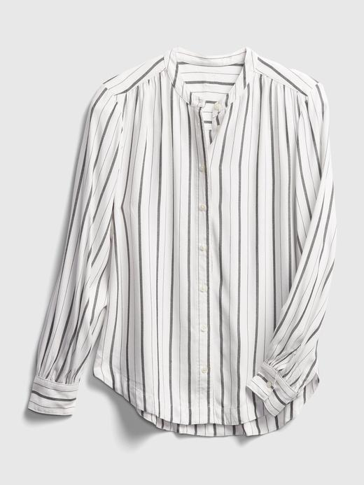 Kadın  Çizgili Gömlek