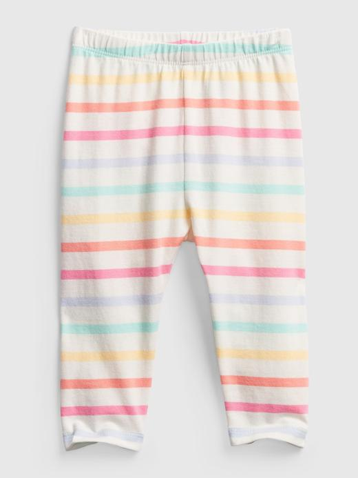 Kız Bebek Çok Renkli Desenli Pull-On Eşofman Altı