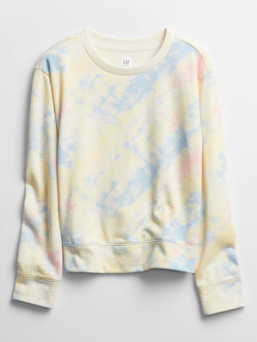 Kız Çocuk Çok Renkli Yuvarlak Yaka Sweatshirt