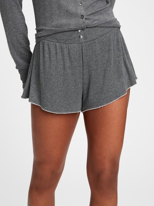 Kadın Gri Modal Karışımlı Pijama Altı