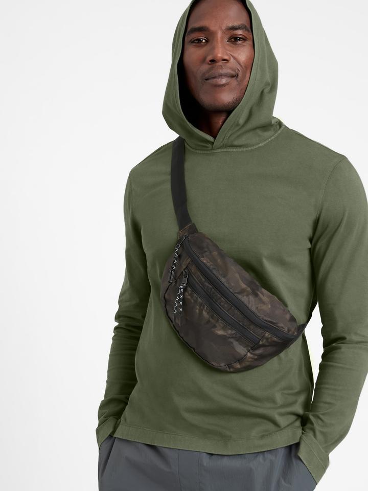 Erkek  SUPIMA® Kapüşonlu Sweatshirt