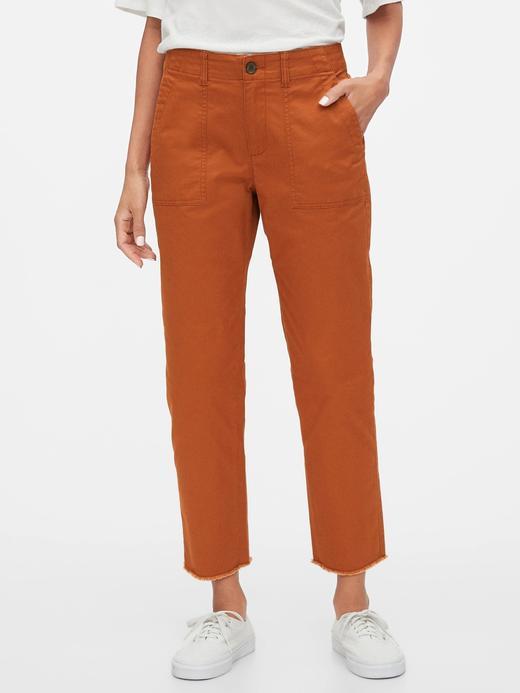 Kadın Turuncu Girlfriend Khaki Pantolon