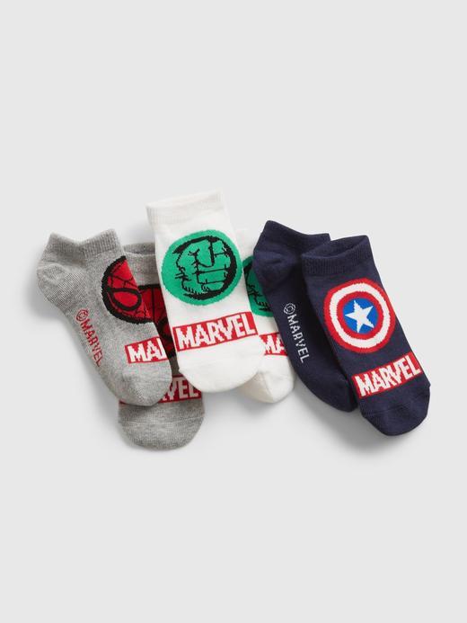 Erkek Çocuk Çok Renkli 3'lü Marvel ™ Çorap Seti
