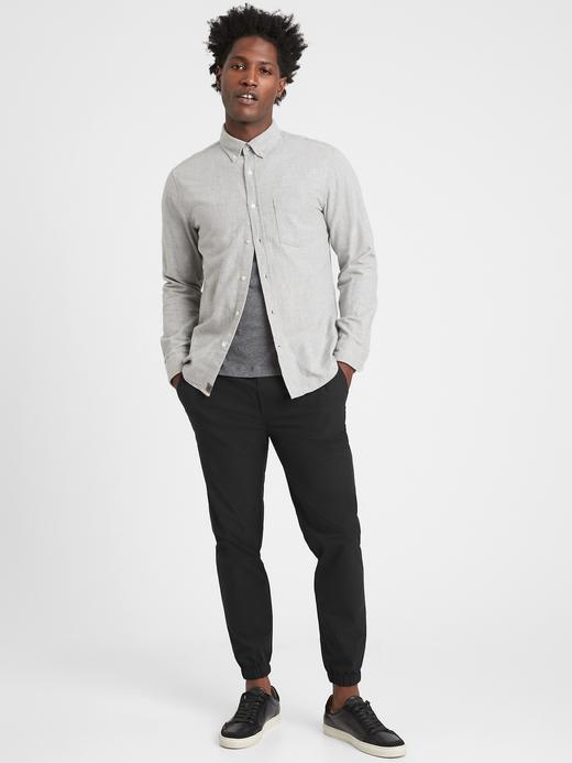 Erkek Siyah Motion Tech Jogger Pantolon