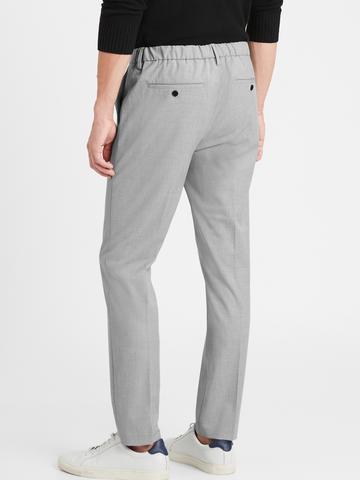 Erkek Gri Slim Fit Pantolon