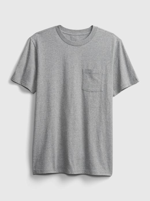 Erkek Bej Organik Pamuklu T-Shirt