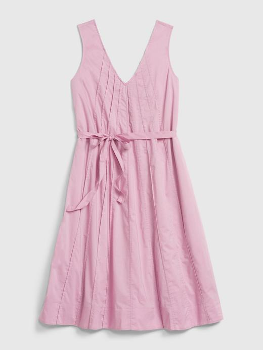Kadın Mor Kalın Askılı Swing Elbise
