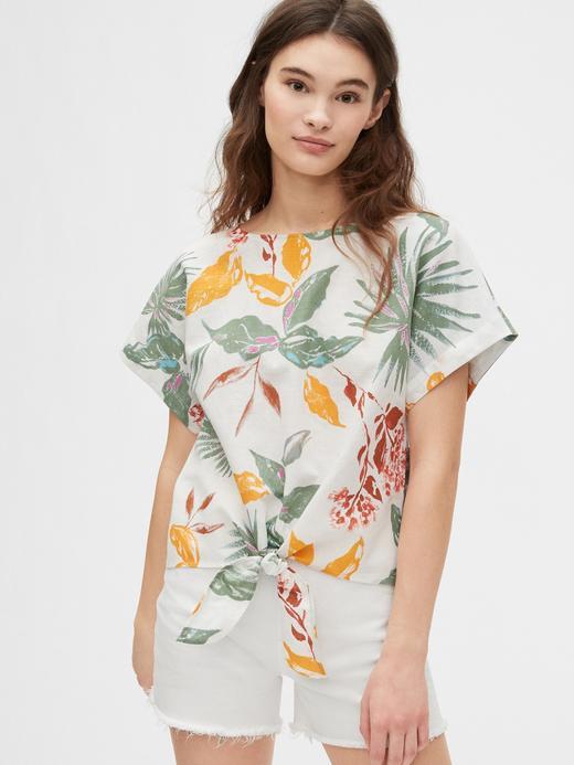 Kadın Çok Renkli Bağlama Detaylı Bluz