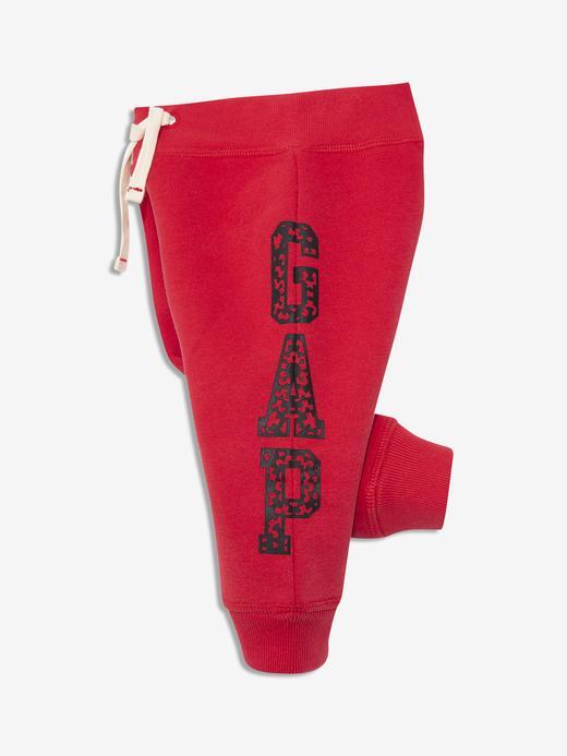 Erkek Bebek Kırmızı Gap Logo Eşofman Altı