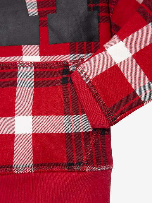 Erkek Bebek Kırmızı Gap Logo Kapüşonlu Sweatshirt