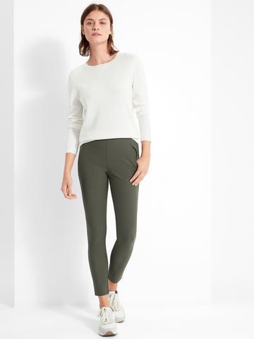 Kadın Yeşil Luxe Sculpt Skinny Fit Pantolon