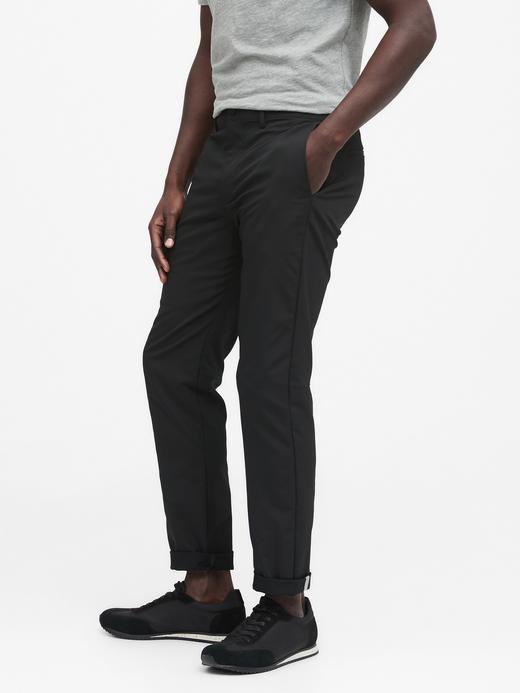 Erkek Siyah Slim City Pantolon