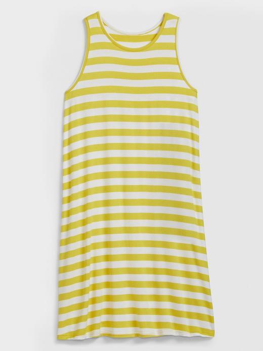 Kadın Sarı Kolsuz Midi Elbise