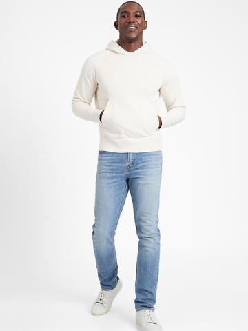 Erkek Mavi Organik Pamuklu Slim Fit Jean Pantolon