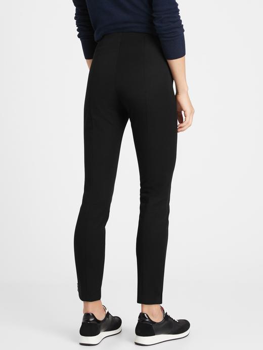 Kadın Siyah High-Rise Sloan Legging Pantolon