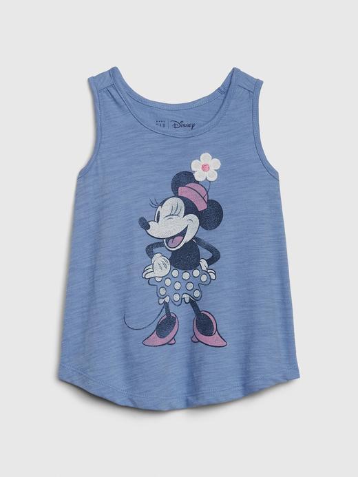 Kız Bebek Mavi Disney Minnie Mouse Atlet