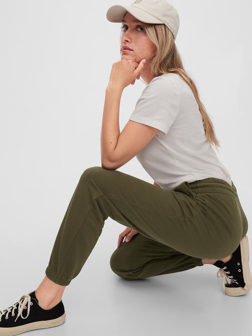 Kadın Yeşil Bağcıklı Eşofman Altı