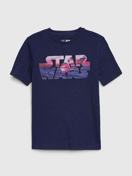 Erkek Çocuk Lacivert Star Wars™ Grafik T-Shirt