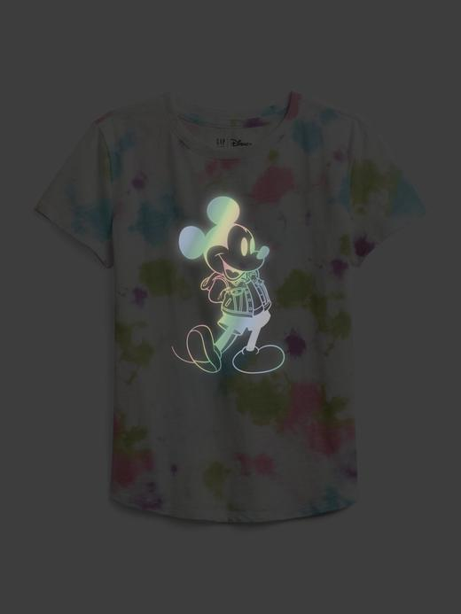 Kız Çocuk Çok Renkli Disney Mickey Mouse Grafik T-Shirt