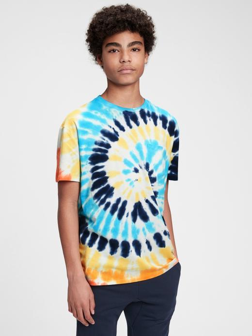 Erkek Çocuk Çok Renkli Kısa Kollu Cepli T-Shirt