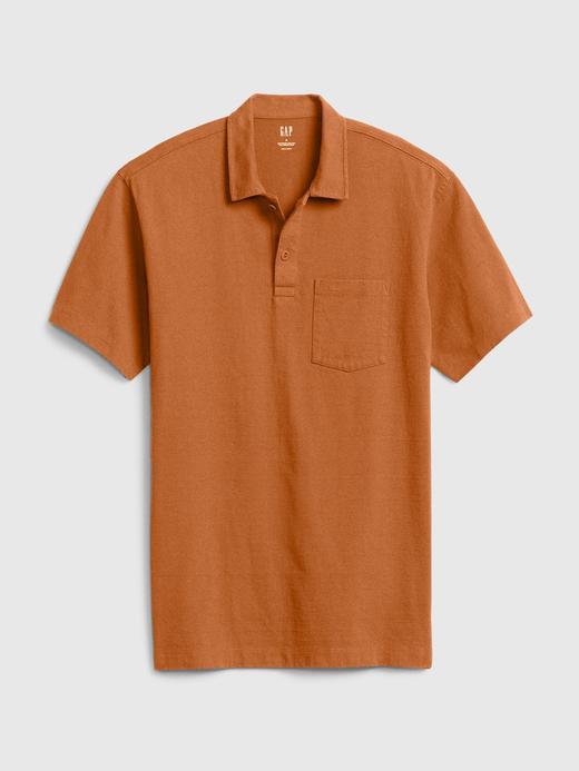 Erkek Kahverengi Polo Yaka T-Shirt