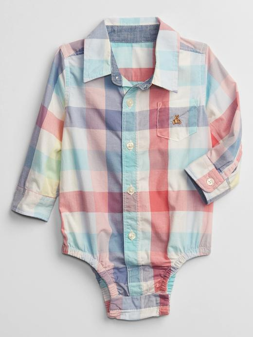 Erkek Bebek Çok Renkli Brannan Bear Ekose Body