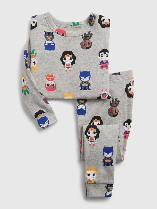 Kız Bebek Gri DC™ Superhero Pijama Takımı