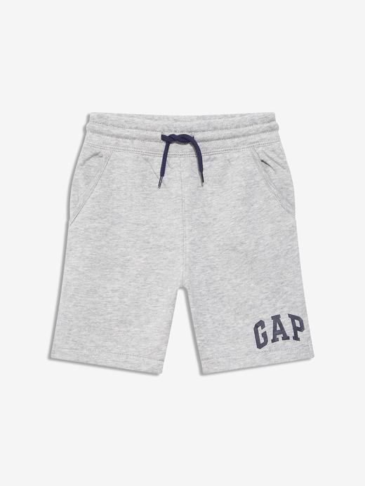 Erkek Bebek Gri Gap Logo Şort