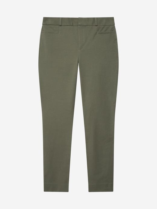 Kadın Yeşil Sloan Pantolon