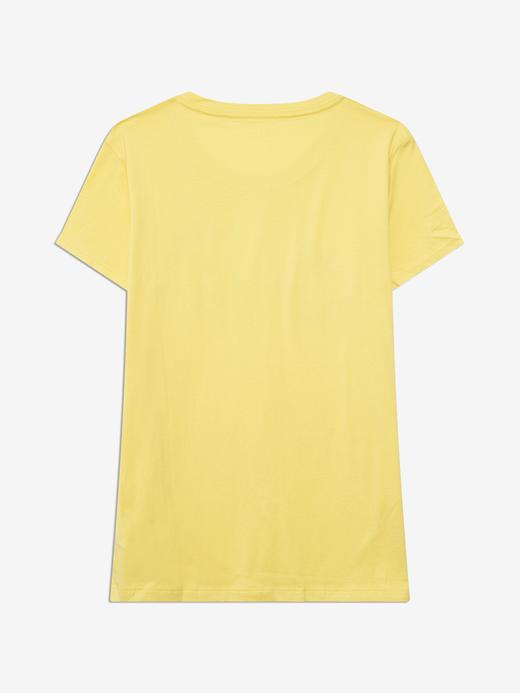 Kadın Sarı Gap Logo Kısa Kollu T-shirt